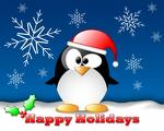 Holiday penquin